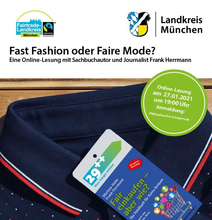 Fast Fashion oder Faire Mode Lesung